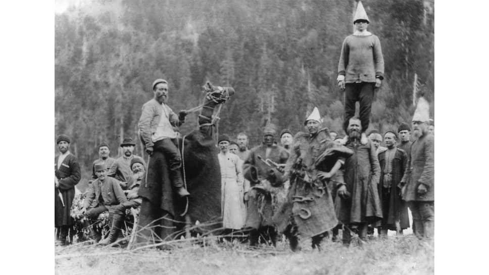 После отмены крепостного права барские охоты с многочисленными «гонцами» (на фото) стали большой редкостью
