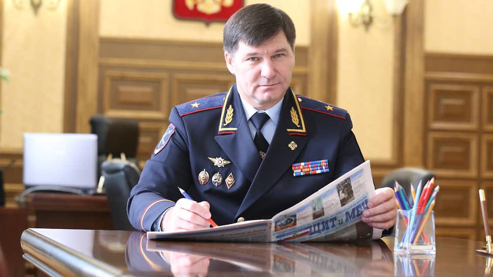 Бывший начальник УМВД по Тюменской области Юрий Алтынов