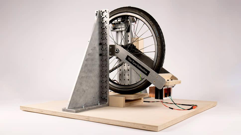 The Tyre Collective — устройство, которое крепится к колесу автомобиля и собирает отрывающиеся от шин микрочастицы. Впоследствии их можно переработать для повторного применения