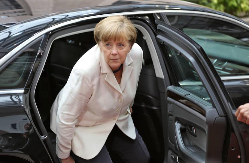 На саммите лидеров стран Еврозоны в Брюсселе, 2015 год