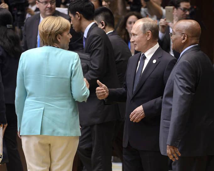 На саммите G20 в Китае, 2016 год