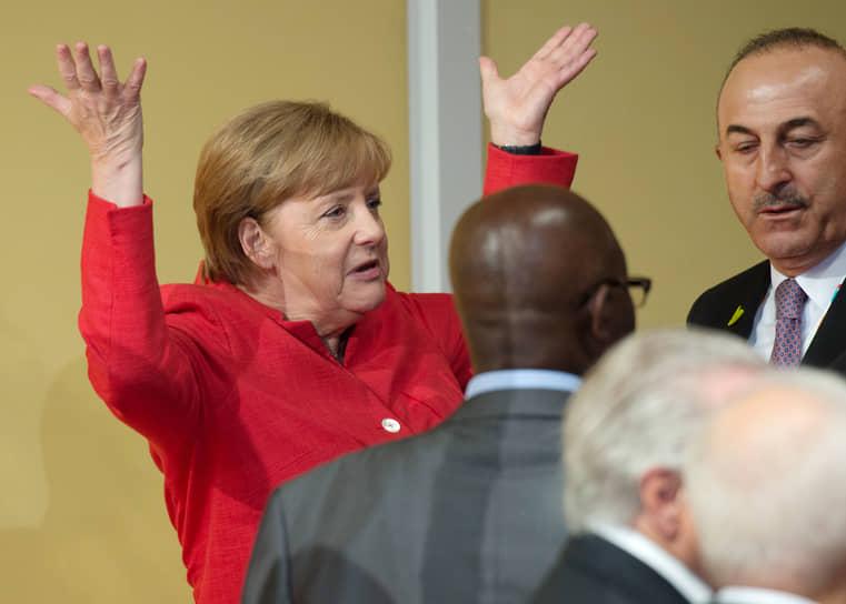 На саммите G20 в Гамбурге, 2017 год