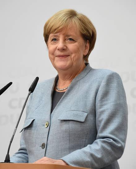 В штабе правящей партии Христианско-демократического союза Германии, 2017 год