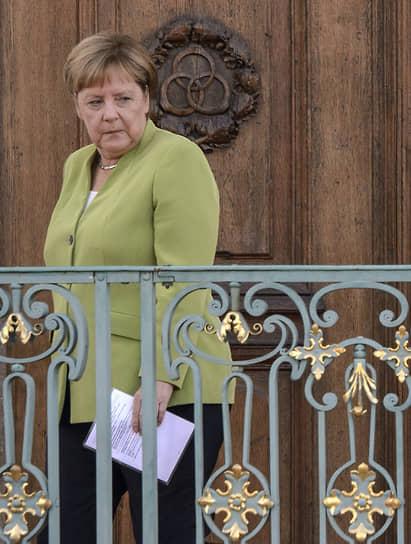 В резиденции правительства Германии, 2018 год