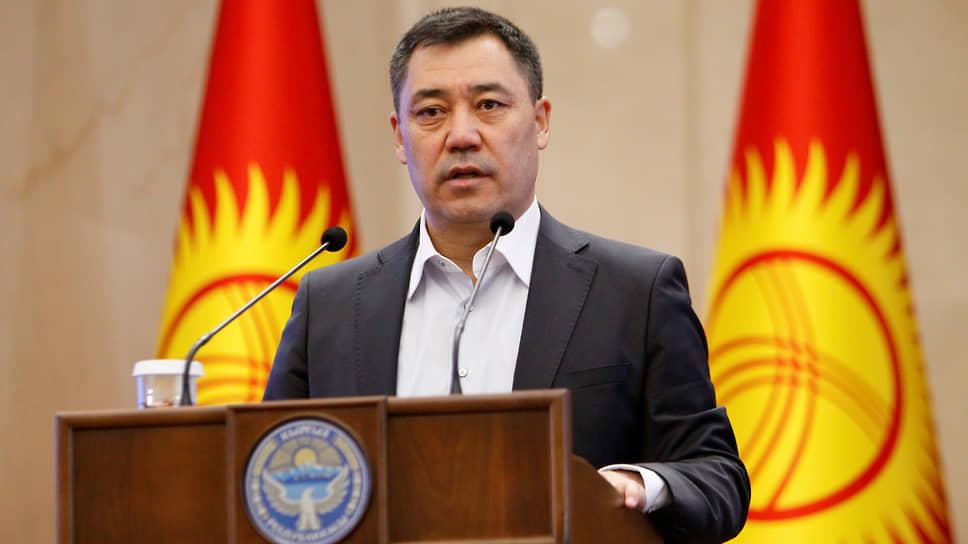 Премьер-министр Киргизии Садыр Жапаров