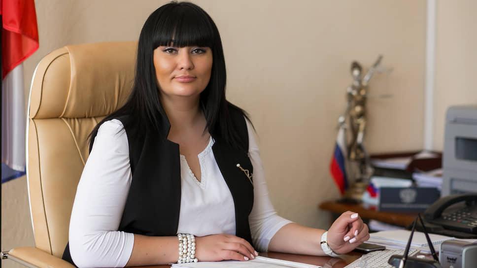 Бывшая председатель Дзержинского районного суда Волгограда Юлия Добрынина