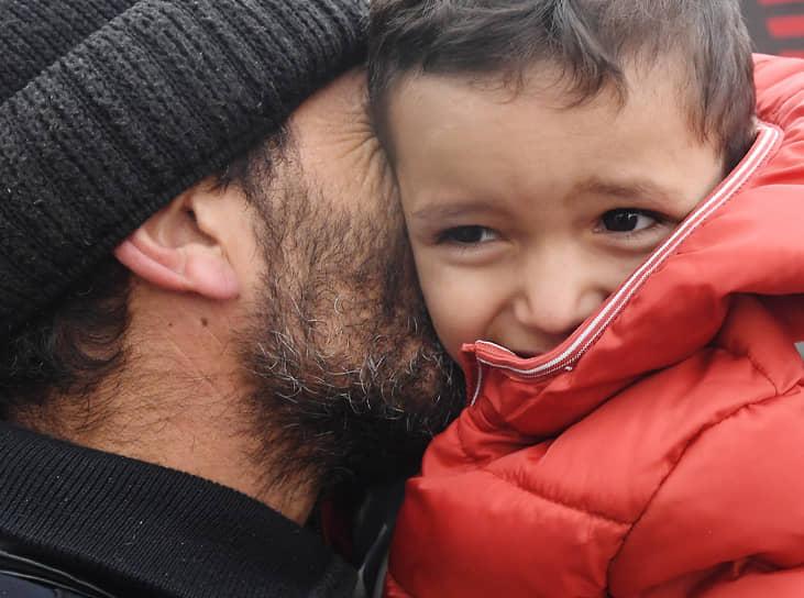 Степанакерт, Нагорный Карабах. Беженцы, вернувшиеся в город из Армении