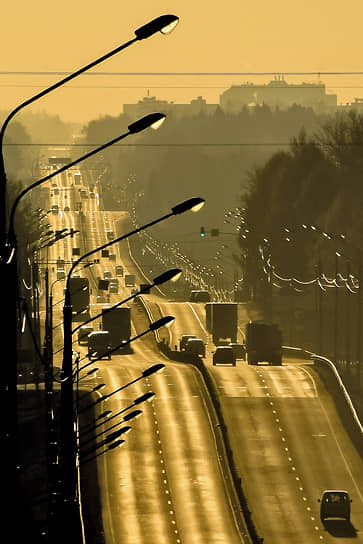 17 ноября. Московская область. Движение на Ленинградском шоссе