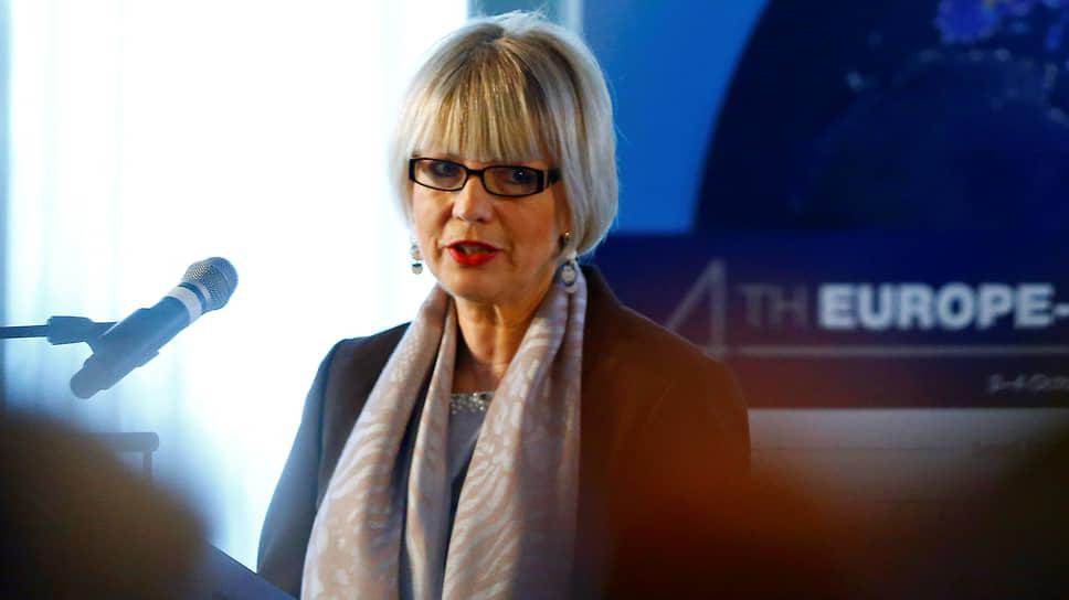 Генеральный секретарь Европейской службы внешних связей Хельга Мария Шмид