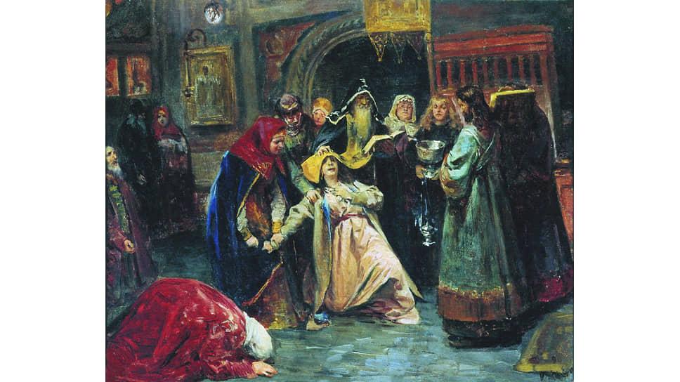 Надежное теоретически средство избавления от опостылевшей жены насильственным пострижением ее в монахини далеко не всегда срабатывало на практике