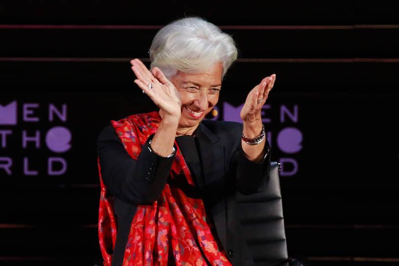 2 место — глава Европейского центрального банка Кристин Лагард