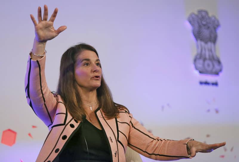 5 место — филантроп, жена основателя Microsoft Билла Гейтса Мелинда Гейтс