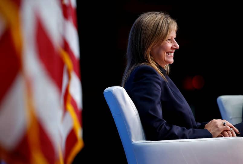 6 место — генеральный директор General Motors Мэри Барра