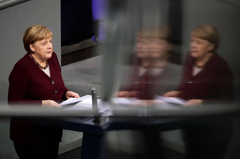 1 место — канцлер Германии Ангела Меркель