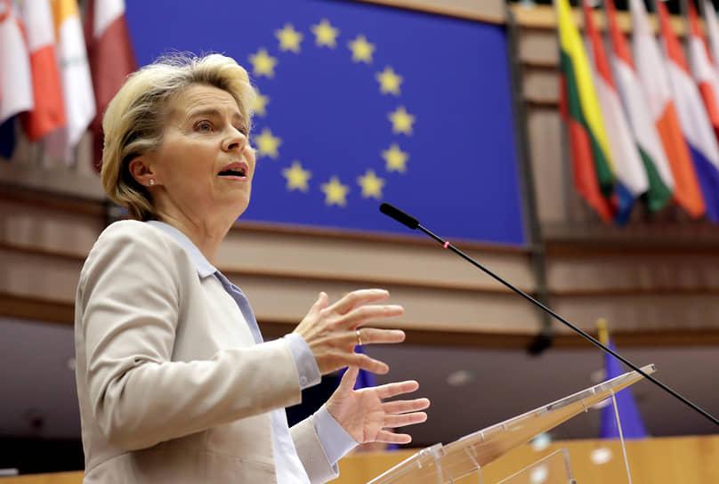 4 место — глава Еврокомиссии Урсула фон дер Ляйен