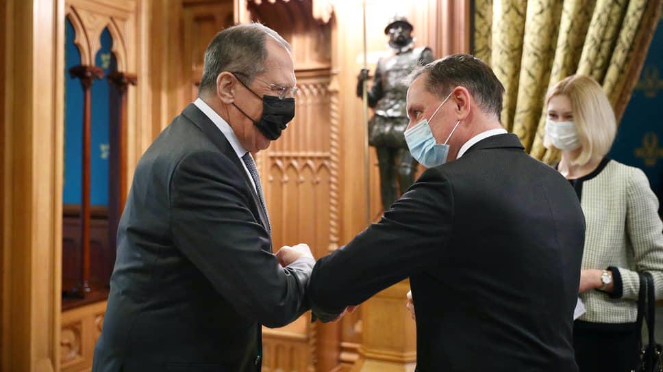 Сергей Лавров провел альтернативные переговоры для Германии