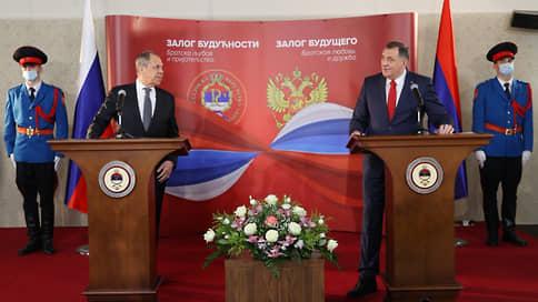 Боснийская тройка лишилась двоих  / Два члена Президиума БиГ отказались от встречи с Сергеем Лавровым
