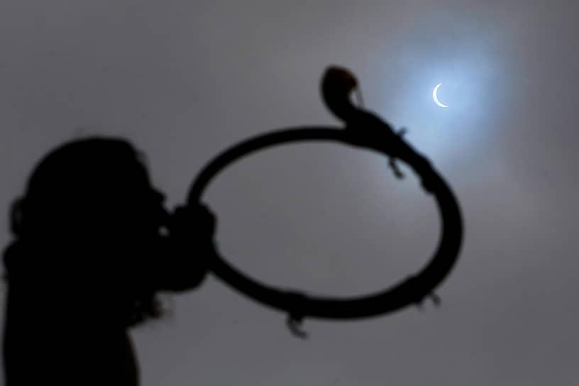 Лучше всего затмение было видно в Чили и Аргентине