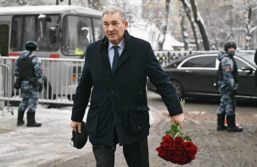 Советский хоккеист, депутат Госдумы Владислав Третьяк
