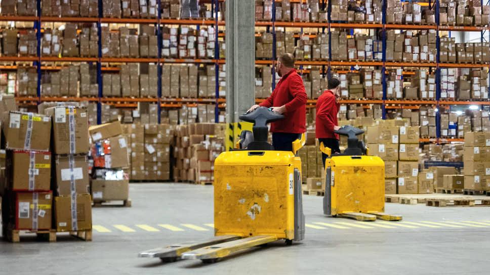 ВТБ осваивается на складе