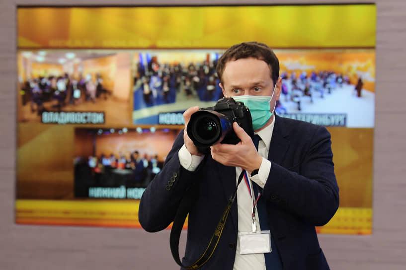 Фотограф в подмосковной резиденции Ново-Огарево