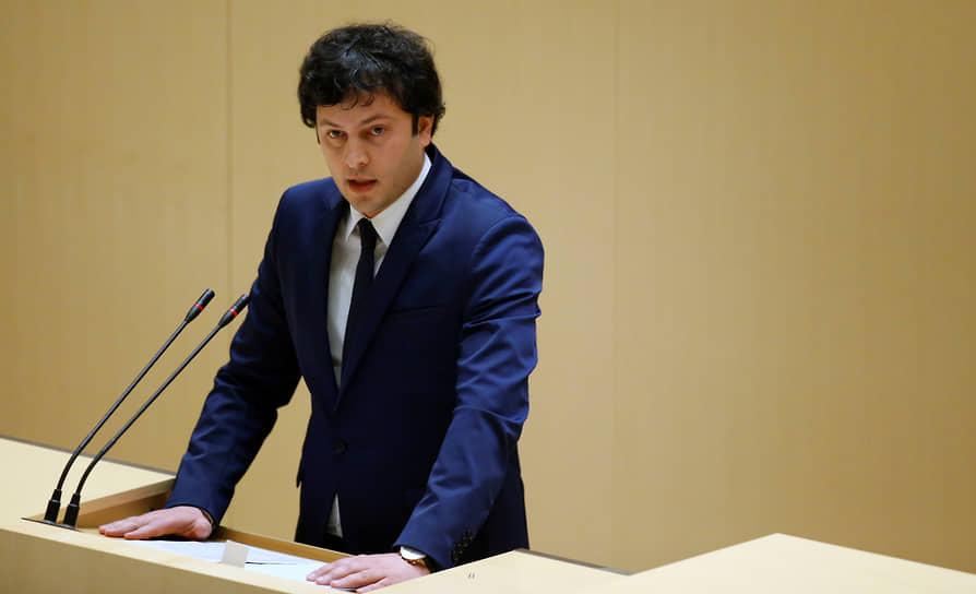 Исполнительный секретарь «Мечты» Ираклий Кобахидзе