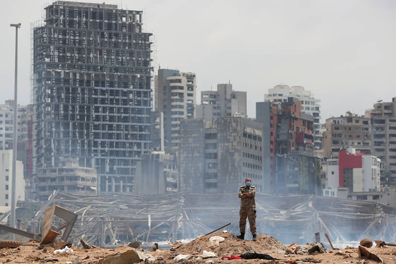 <b>Взрыв в порту Бейрута</b><br> 4 августа в столице Ливана Бейруте произошел взрыв свыше 2,5 тыс. тонн аммиачной селитры. Погибли более 170 человек      <br> Заметность события: 10 061,8