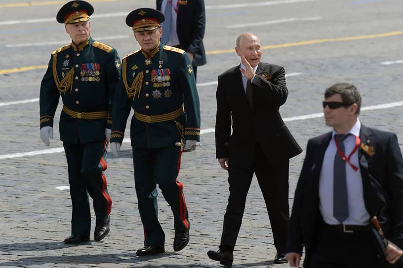 <b>Празднование 75-летия Победы</b><br> 24 июня в России прошли парады в честь 75-летия Победы в Великой Отечественной войне, перенесенные с 9 мая из-за пандемии        <br> Заметность события: 8 632,3