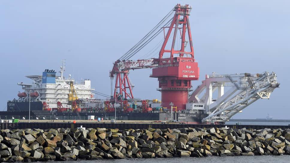Как «Северный поток-2» вернулся в датские воды