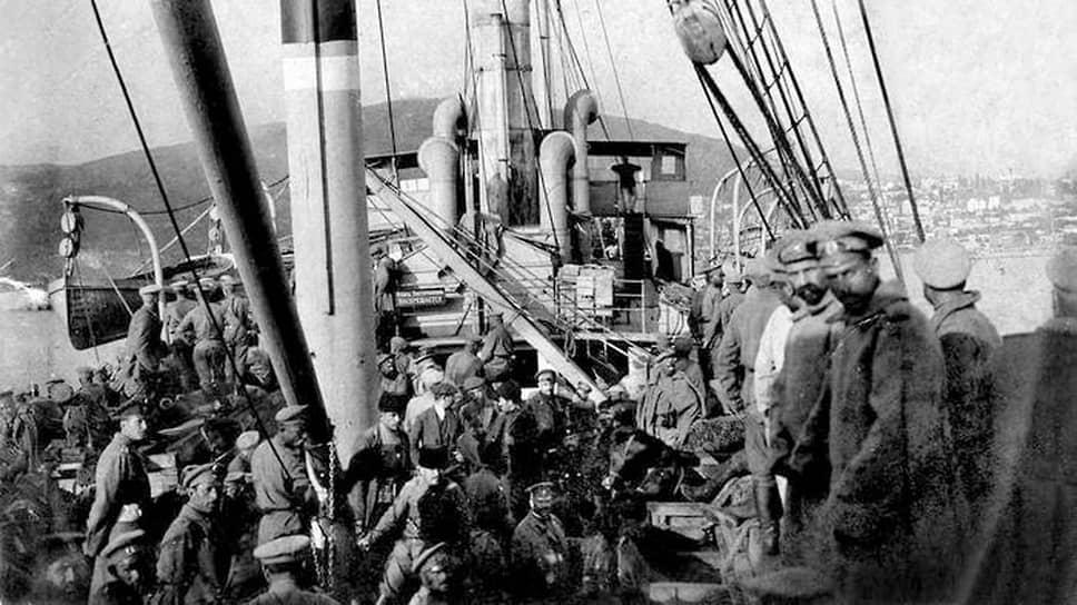 «По французским сведениям, из Константинополя выезжает 4000 беженцев в Бразилию»