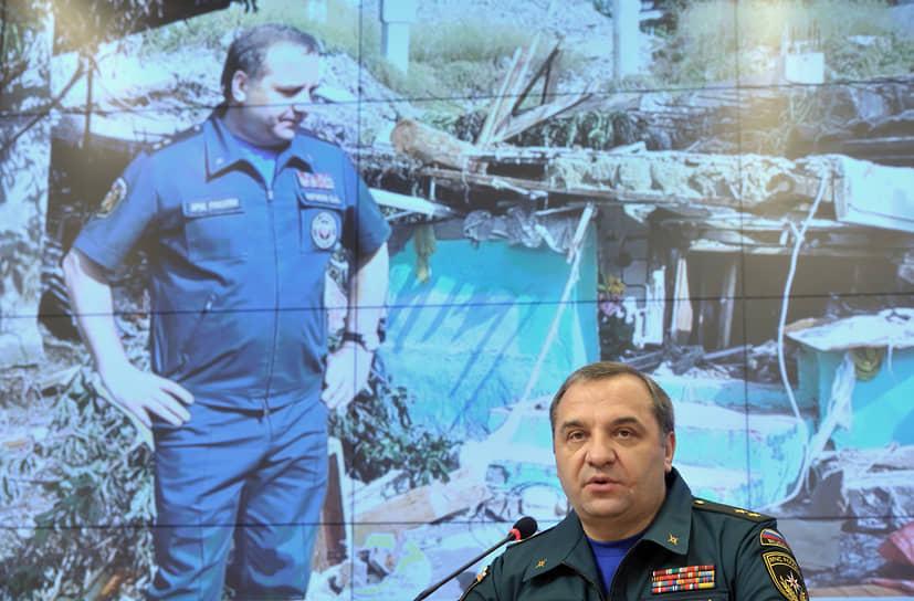В мае 2012 года МЧС возглавил Владимир Пучков, который ранее занимал должность статс-секретаря — заместителя министра чрезвычайного ведомства. Сергей Шойгу перешел на должность губернатора Московской области, а затем стал министром обороны