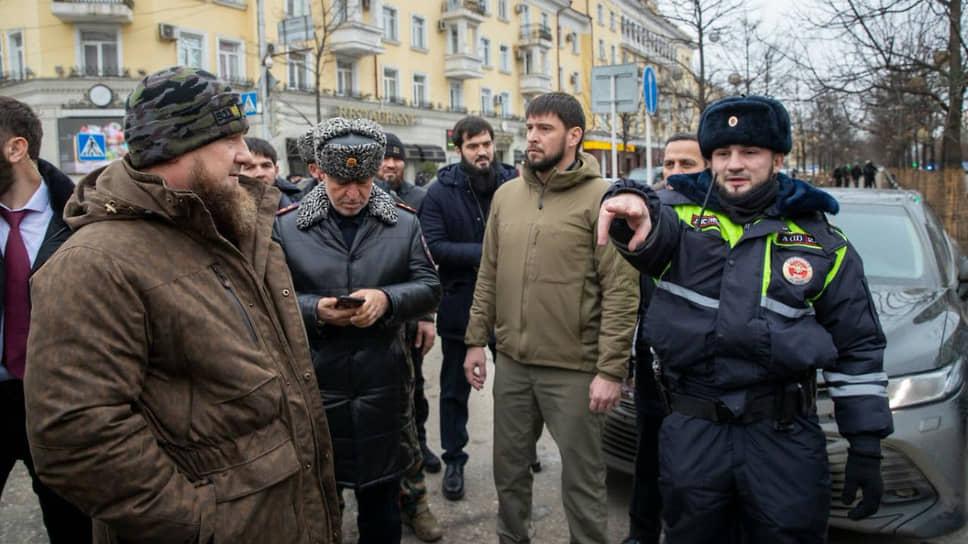 Чеченских полицейских атаковали пекари