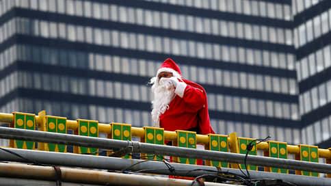 Санта облетел планету с подарками