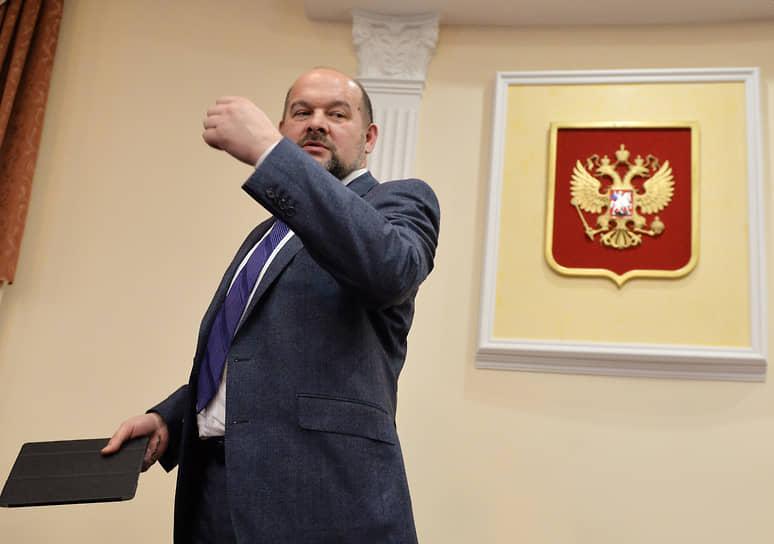 2 апреля. Губернатор Архангельской области Игорь Орлов ушел в отставку