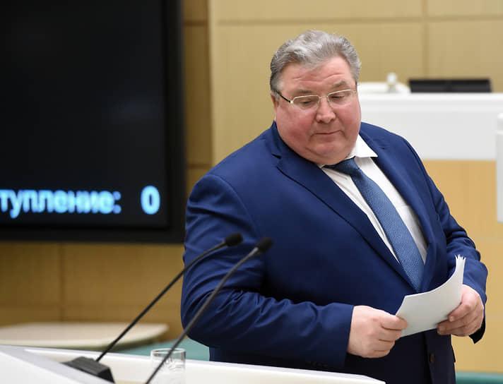 18 ноября. Ушел в отставку глава Мордовии Владимир Волков