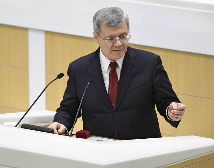 22 января. Генеральный прокурор Юрий Чайка, занимавший этот пост с 2006 года, был назначен полпредом президента России в Северо-Кавказском федеральном округе