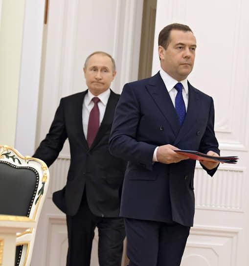 16 января. Бывший премьер Дмитрий Медведев занял пост зампредседателя Совета безопасности России