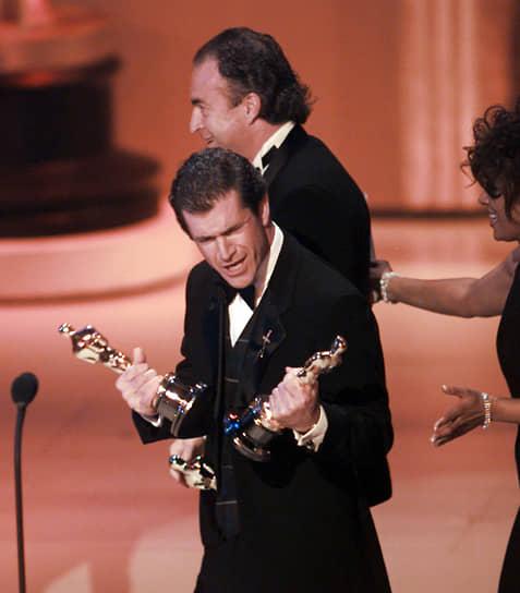 «Храброе сердце» получил десять номинаций на «Оскар», выиграв пять из них, в том числе главный приз за лучший фильм и награду за режиссуру