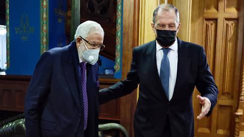 Москва и Триполи рассыпались в благодарностях  / Сергей Лавров встретился с главой МИД Правительства национального согласия