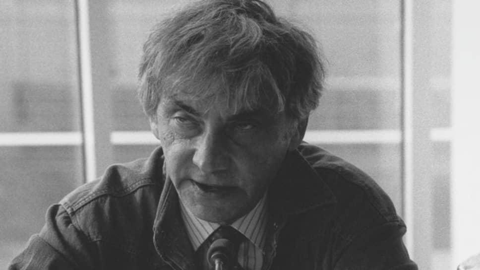 Главный редактор газеты «Московские новости» Лен Вячеславович Карпинский
