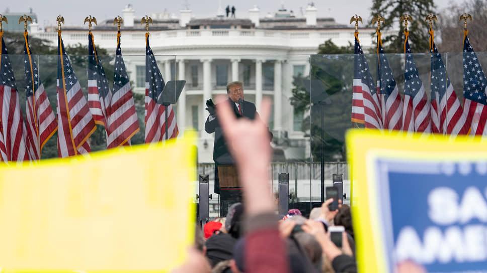 Наконец, на сцену поднялся сам президент США Дональд Трамп
