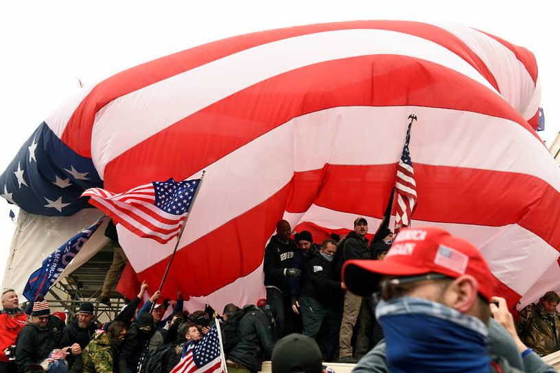 В Вашингтон выслали 1800 солдат Национальной гвардии