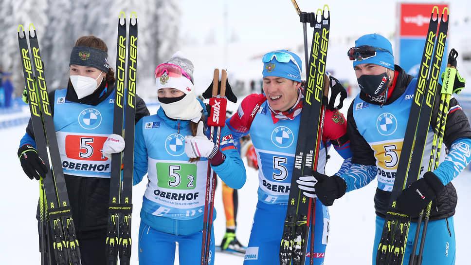 Российский биатлон вернул победу