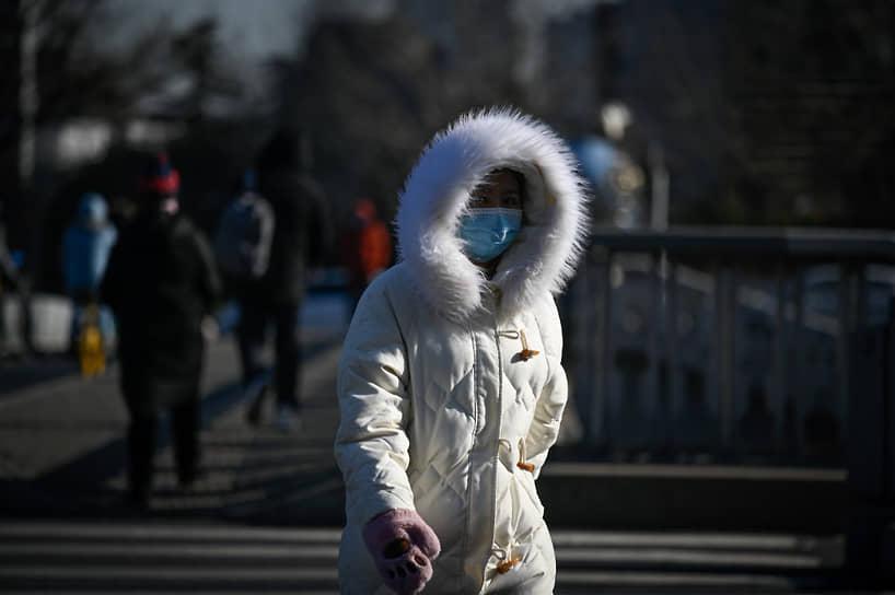 В Пекине установились аномальные холода, каких здесь не было с 1966 года