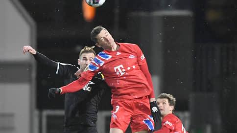 Роберт Левандовский напоролся на Киль // Бавария уступила в Кубке Германии Хольштайну из второй бундеслиги