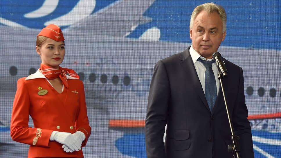 Летный директор «Аэрофлота» Игорь Чалик