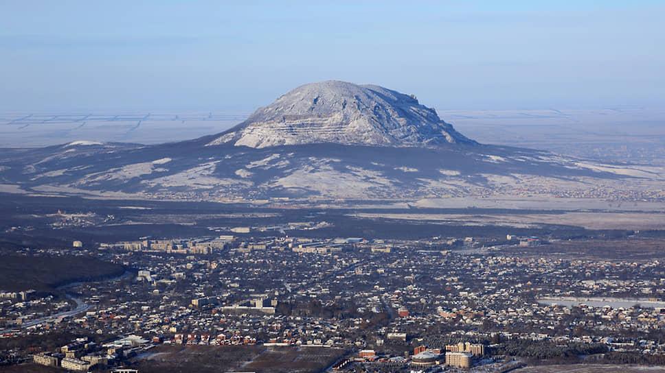 Пятигорск, вид на гору Змейка