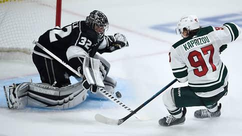 НХЛ увидела возможности российского новичка // В первом матче за Миннесоту Кирилл Капризов набрал три очка