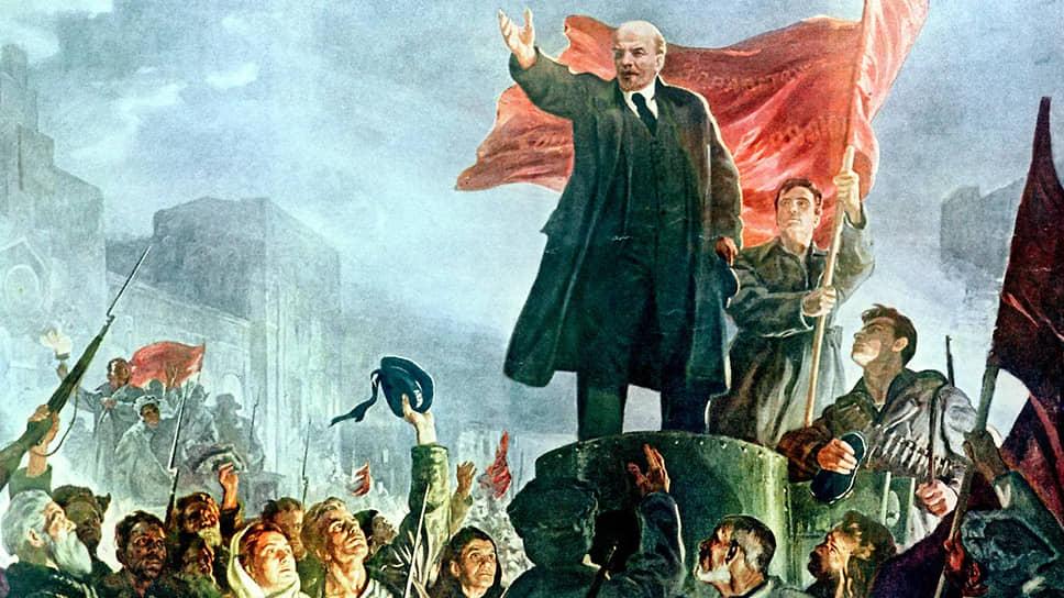 3 апреля 1917 года Владимир Ленин прибыл в Петроград в «пломбированном вагоне» из Швейцарии через Германию, Швецию и Финляндию после 9-летней эмиграции. На площади перед Финляндским вокзалом он с броневика выступил перед своими сторонниками. Осенью того же года Ленин стал главным идеологом и организатором Октябрьской революции
