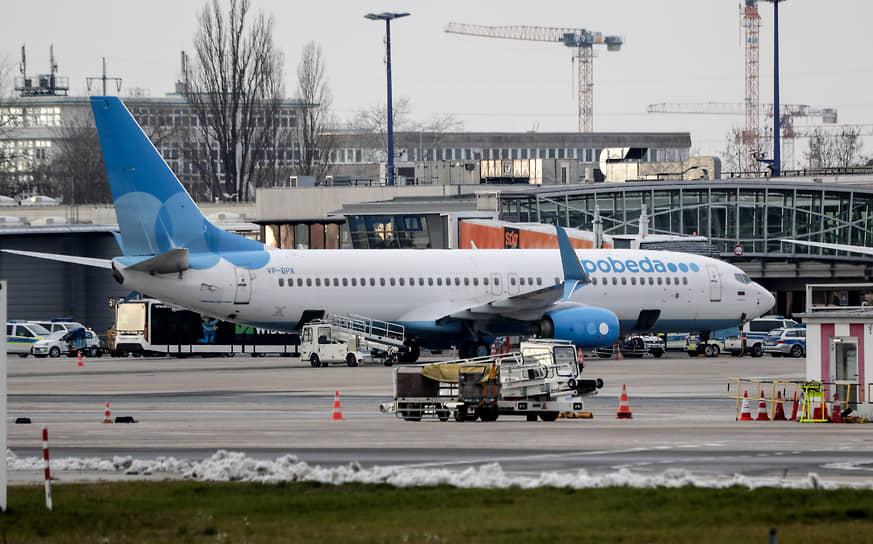 Самолет, на котором Алексей Навальный возвращался в Россию